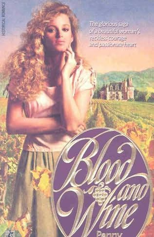book cover of Blood and Wine