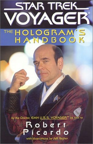 book cover of Star Trek Voyager : The Hologram\'s Handbook