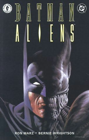 book cover of Batman Aliens