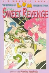 book cover of The Return of Lum Urusei Yatsura Sweet Revenge (Lum Urusei Series)