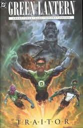 book cover of Green Lantern : Traitor