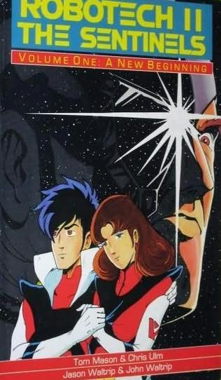 book cover of Robotech II : The Sentinels, Volume One : A New Beginning