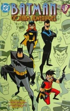 book cover of Batman : Gotham Adventures