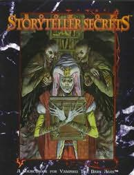 book cover of Book of Storyteller Secrets (Vampire - The Dark Ages)
