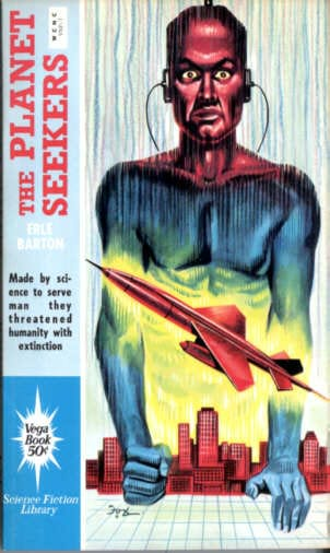 book cover of The Planet Seekers