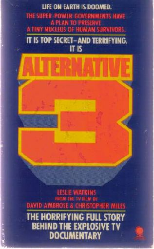 book cover of   Alternative 3   by  David Ambrose and   Leslie Watkins
