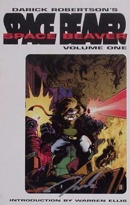 book cover of Space Beaver