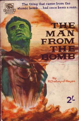 book cover of The Man from the Bomb