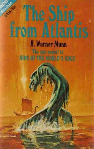 book cover of The Ship from Atlantis