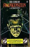 book cover of The Curse of Frankenstein
