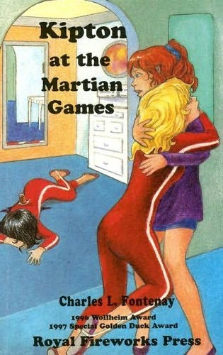 book cover of Kipton and the Martian Games