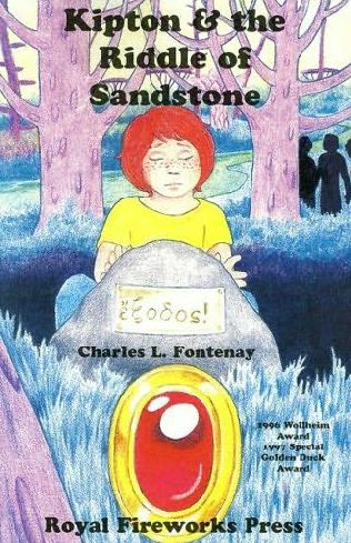 book cover of Kipton and the Riddle of Sandstone