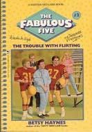 book cover of The Trouble With Flirting