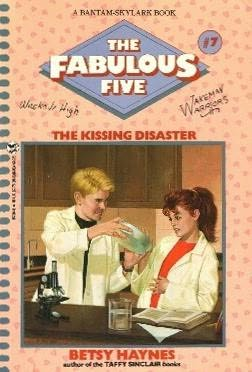 book cover of The Kissing Disaster
