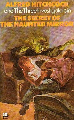 book cover of The Secret of the Haunted Mirror