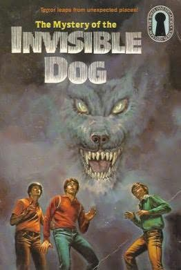 book cover of The Mystery of the Invisible Dog