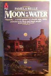 book cover of The Moon in the Water