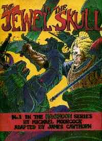book cover of The Jewel in the Skull