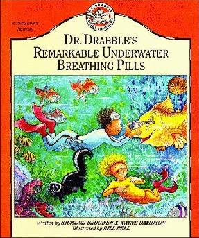 book cover of Dr. Drabble\'s Remarkable Underwater Breathing Pills