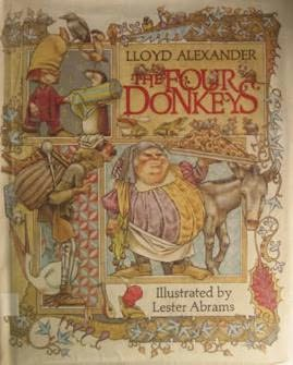 book cover of The Four Donkeys