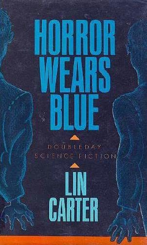 book cover of Horror Wears Blue
