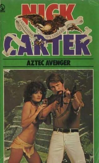 book cover of Aztec Avenger