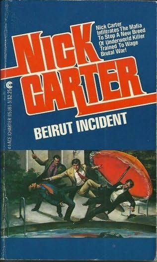 book cover of Beirut Incident