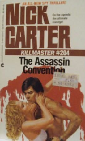book cover of The Assassin Convention