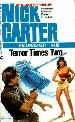 book cover of Terror Times Two