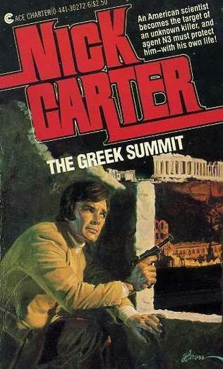 book cover of The Greek Summit