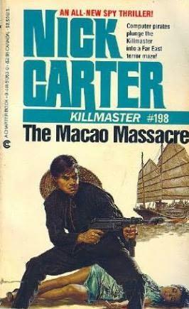 book cover of The Macao Massacre
