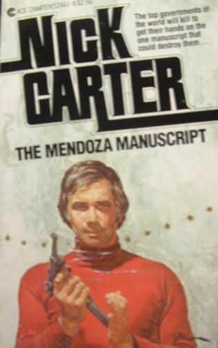 book cover of The Mendoza Manuscript
