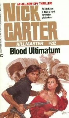 book cover of Blood Ultimatum