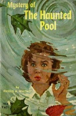 book cover of Mystery of the Haunted Pool