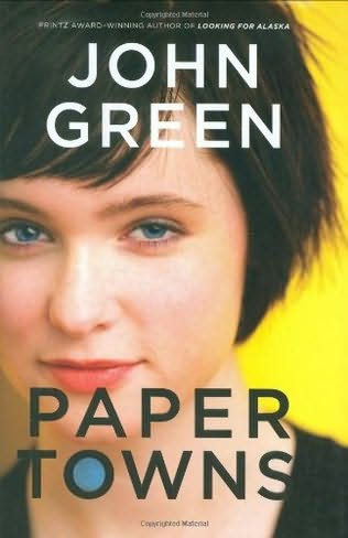 book cover of   Paper Towns   by  John Green