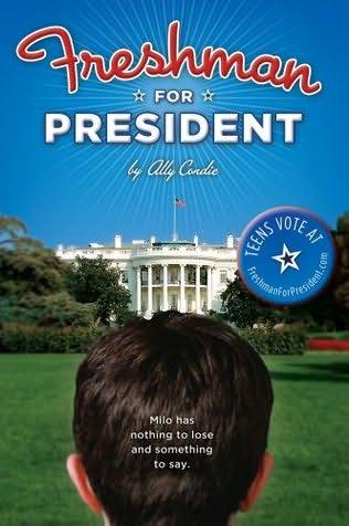 book cover of Freshman for President