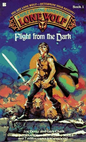 book cover of Flight from the Dark