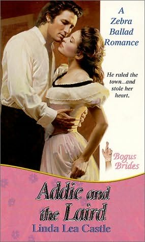 book cover of Addie and the Laird