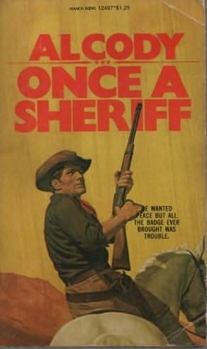 book cover of Once a Sheriff