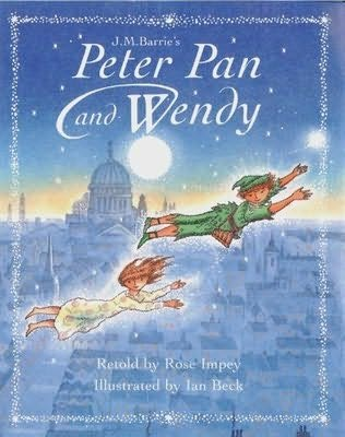 book cover of Peter Pan and Wendy