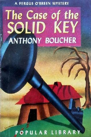 book cover of The Case of the Solid Key