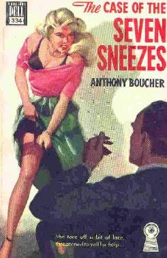 book cover of The Case of the Seven Sneezes