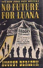 book cover of No Future for Luana