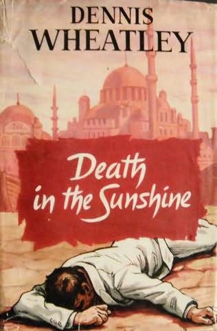 book cover of Death in the Sunshine