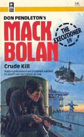book cover of Crude Kill