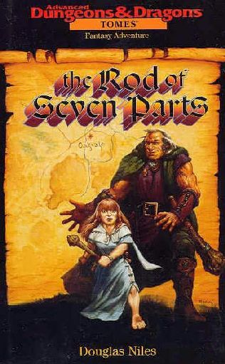 The Rod Of Seven Parts By Douglas Niles border=