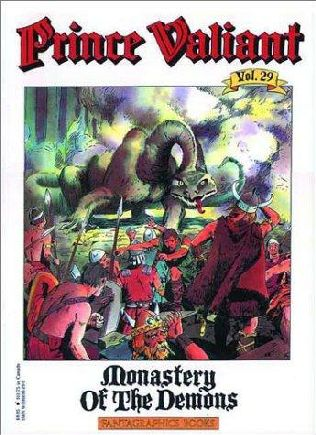 book cover of Monastery of the Demons