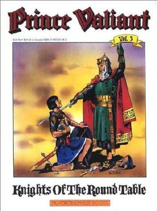 book cover of Knights of the Round Table