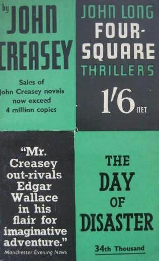 book cover of The Day of Disaster