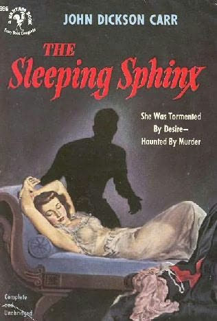 book cover of The Sleeping Sphinx